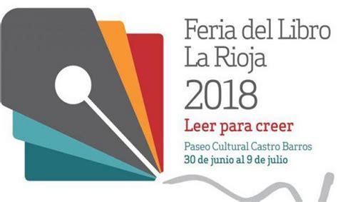 concursos literarios feria del libro la rioja 2018 sobre libros y cultura
