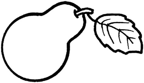 Pear 3 Coloring Page Supercoloring Com Pear Coloring Page