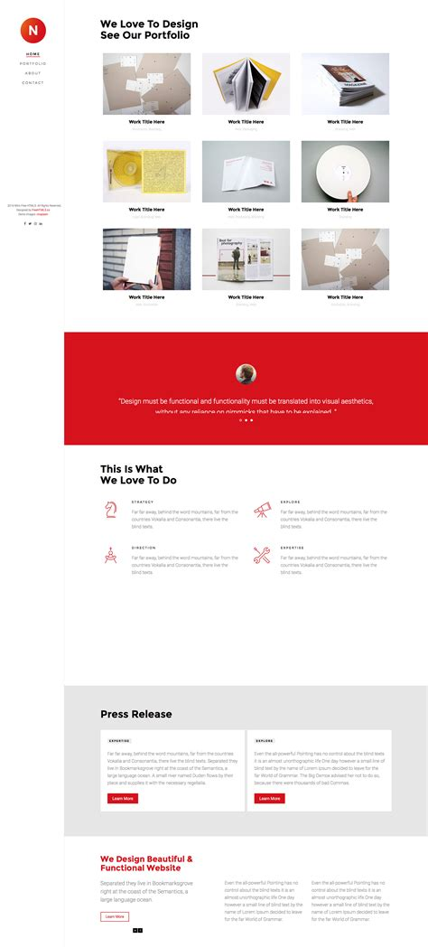bootstrap responsive html template free nitro free responsive html5 bootstrap template