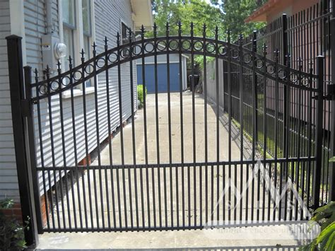 iron fence gates mustache arch summit fence south