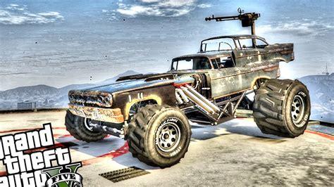 mod gta 5 mad max epic mad max vehicle the gigahorse gta 5 pc mod youtube