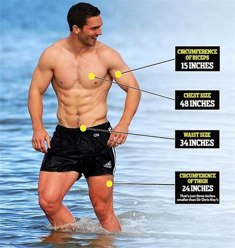 usain bolt bench press the anatomy of george north the welsh muscle man the o