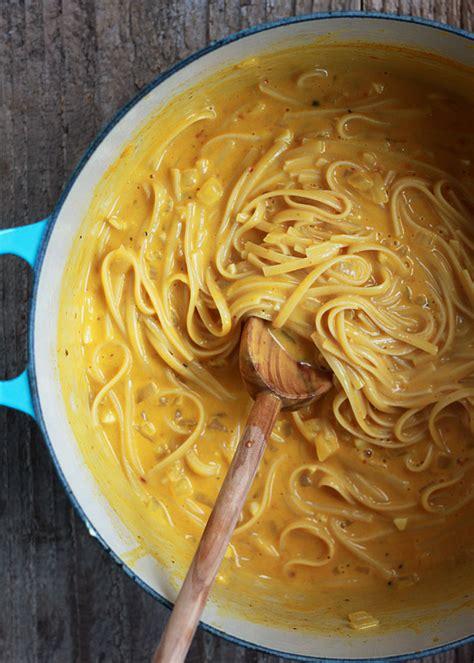 pasta sauce ideas one pot creamy pumpkin pasta kitchen treaty