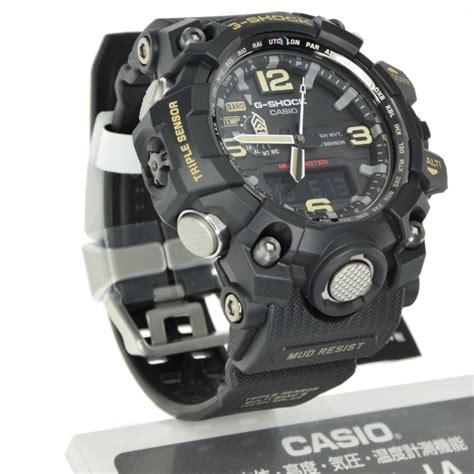 G Shock Gpg 1000 Black casio g shock gwg 1000 1ajf mudmaster sensor black japanese version 4971850028451