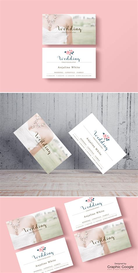 wedding business cards templates free free wedding photography business card template