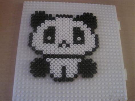 best hama panda hama by purpleairthebest on deviantart