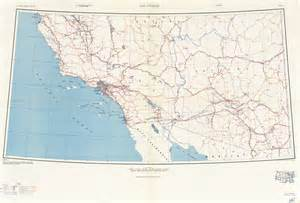 los angeles texas map u s army areas 1948 perry casta 241 eda map collection ut library