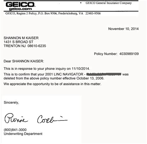 Geico Letter To Cancel Insurance Curriculum Vitae Apa Style Audit Intern Resume Sle Accounts Resume Format Experienced