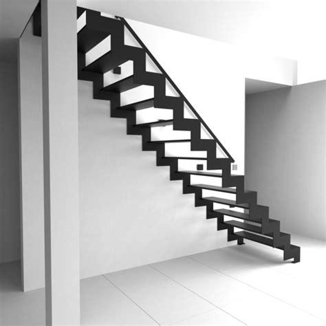 treppengeländer verschönern metall treppe idee