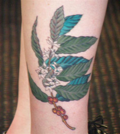 coffee bean tattoo coffee bean