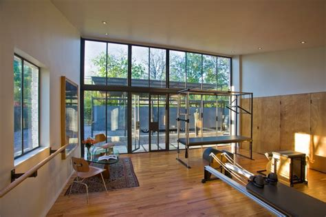 pilates room studio pilates studio contemporary home dallas by susan appleton architect