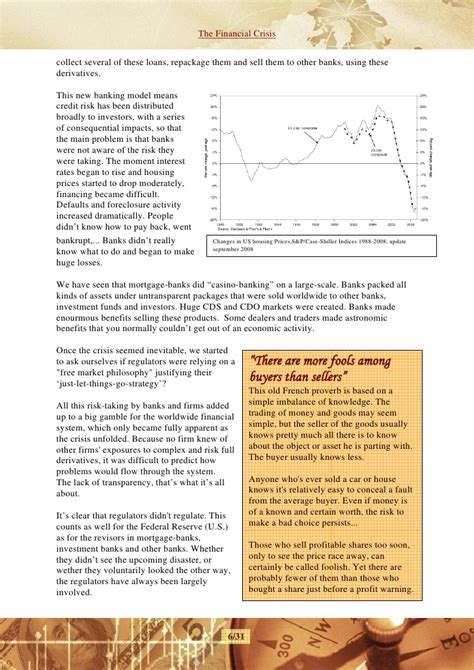 Economic Crisis Essay by The Financial Crisis Paper
