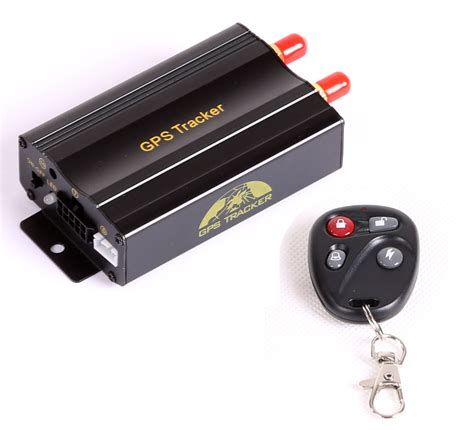 gps tracker gps tracker for vehicle micro sd card remote tk103b the gadget