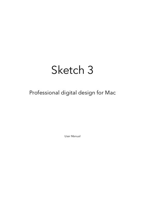 sketchbook user guide sketch 3 manual