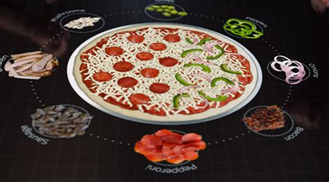 free table pizza pizza hut reveals table concept applemagazine