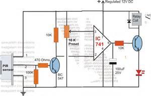 passive infra pir sensor pinouts datasheet application note explained