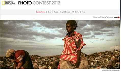 Natgeo Lis top 10 list for photography contests