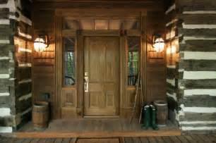 log home lighting design talking rock log cabin