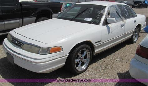 how petrol cars work 1994 ford crown victoria on board diagnostic system 1994 ford crown victoria no reserve auction on monday july 21 2014