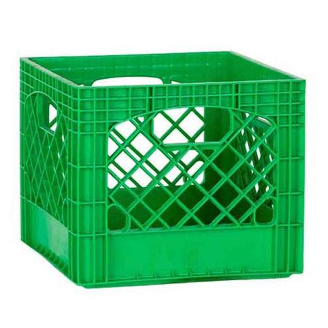 large plastic crate green plastic milk crates colored milk crates storage crates