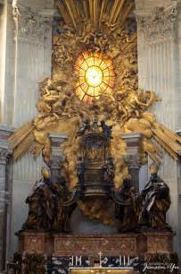 altar of the chair of st jenson z yu s