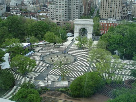 Parking Square Garden by When Washington Square Park Was Owned By Americans