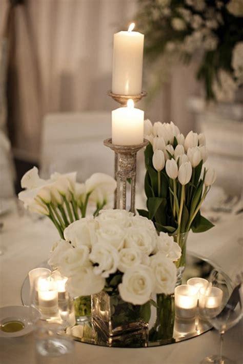 hermoso centro de mesa para boda ideas para centros de mesa para bodas con tulipanes