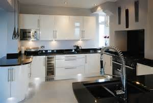 white kitchen cabinets with black granite countertops pros and cons of black pearl granite countertops home