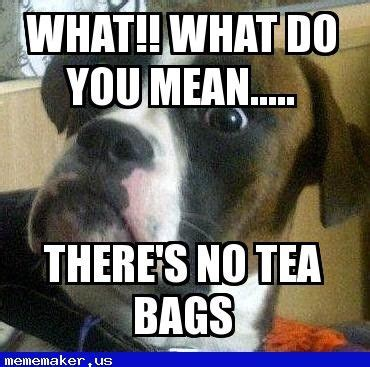 Tea Bag Meme - nice meme in http mememaker us mum when there s no tea