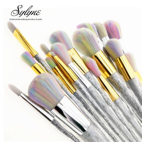 Unicorn Makeup Brush Set 7pcs Eye Makeup Kuas Makeup sylyne makeup brush set 5pcs 7pcs 10pcs unicorn rainbow eye professional make up brush