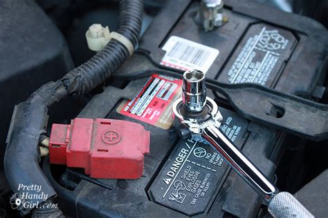 replace  car battery pretty handsome guy style pretty handy girl