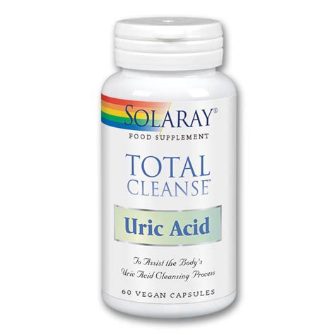 How To Detox Acid From by Solaray Total Cleanse Uric Acid Is Better