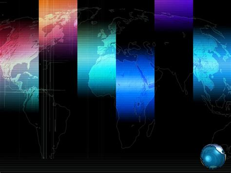 2012 year world map templates for powerpoint presentations