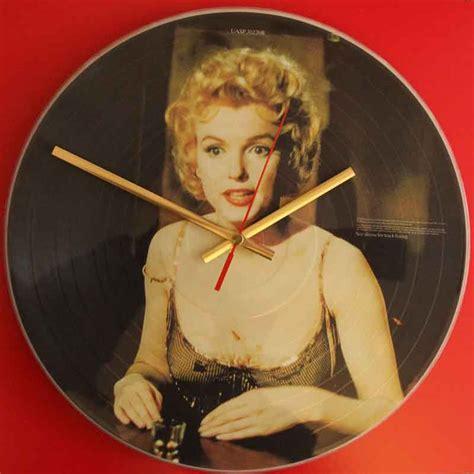 marilyn monroe vinyl marilyn monroe some like it hot vinyl clocks