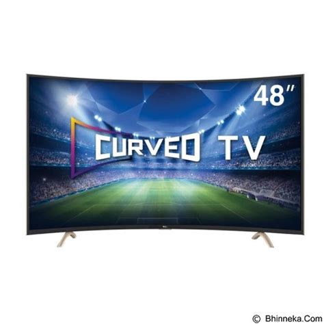 Tv Led Tcl 48 Inch tcl 48 inch curved smart tv led l48p1cfs jual televisi tv 42 inch 55 inch murah tv hd
