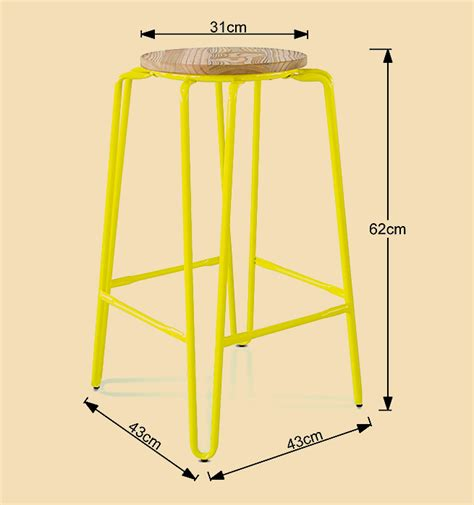 Deals Direct Bar Stools by Set Of 2 Modern Metal Bar Stools Yellow Sales
