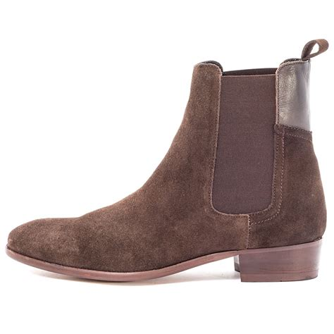 h by hudson mens boots h by hudson watts mens chelsea boots in brown