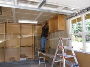 Garage Shelving Plywood Wood Garage Cabinet Plans Cabinets Garage Cabinets And