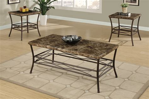 faux marble coffee table set faux marble 3 piece coffee table set affordable