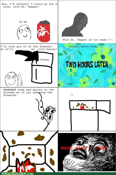 Meme And Rage - funny rage comics freezer meme rage comics pinterest
