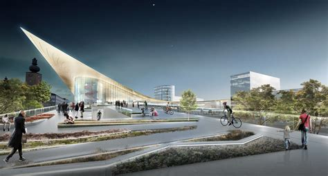 bid on travel big to redevelop v 228 ster 229 s transportation hub archdaily