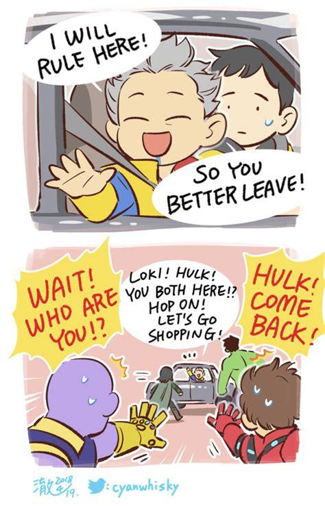 cutest avengers comics feel