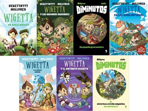 libro los secretos que jamas paquete 10 libros wigetta diminutos willyrex vegeta777 nuevo 2 150 00 en mercado libre