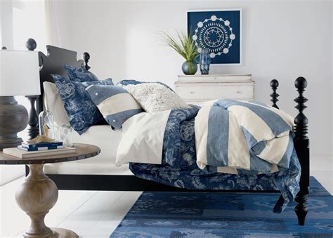 ethan allen bedding ethan allen monikka blue floral duvet cover full queen