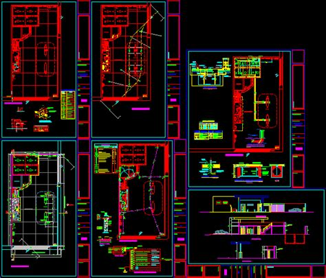 gas station dwg section  autocad designs cad