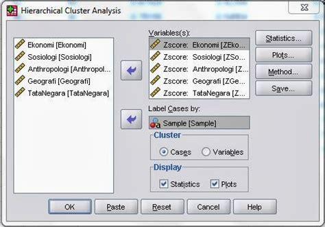 tutorial uji validitas dengan excel tutorial analisis cluster hirarki dengan spss uji statistik