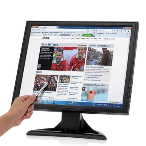 Monitor Lcd Touchscreen 17 17 inch high res touch screen lcd monitor toyonix