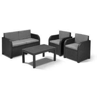 Gartenmöbel Sitzgruppe Rattan Lounge 523 by Gartenm 246 Bel Polyrattan Tisch G 252 Nstig Kaufen Yatego
