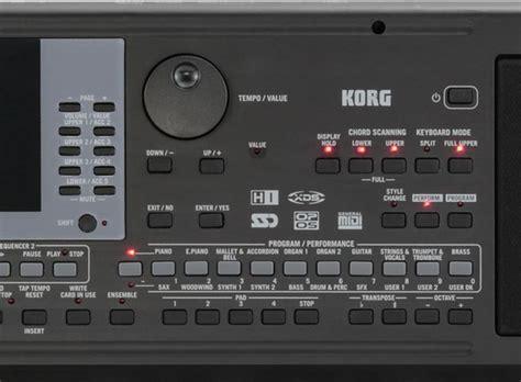 Keyboard Korg Micro Arranger Bekas korg microarranger professional arranger keyboard at gear4music
