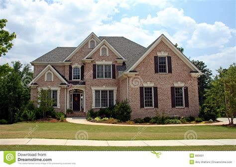class luxury home stock image image of family